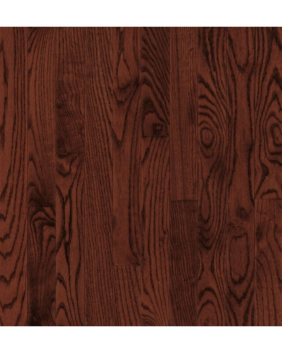 Armstrong Yorkshire Plank Oak Cherry Spice Solid Traditional Finish 3 1/4