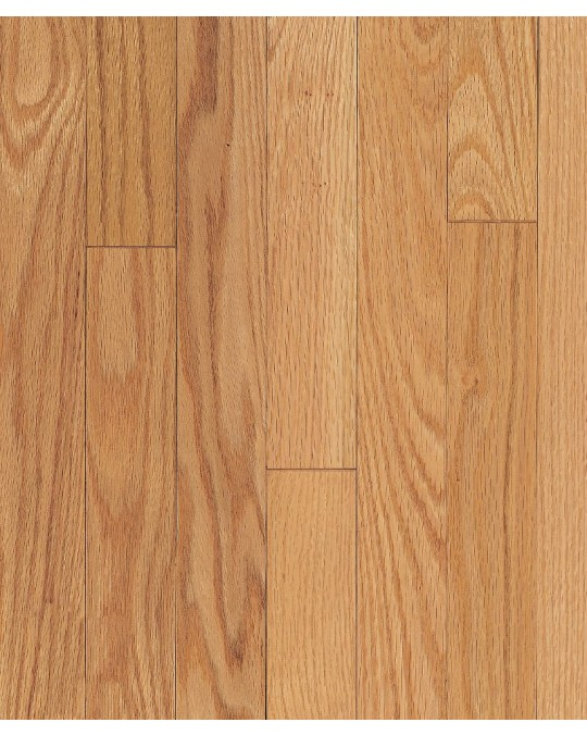 """Armstrong Ascot Plank Oak Natural Solid Traditional Finish 3 1/4"""""""