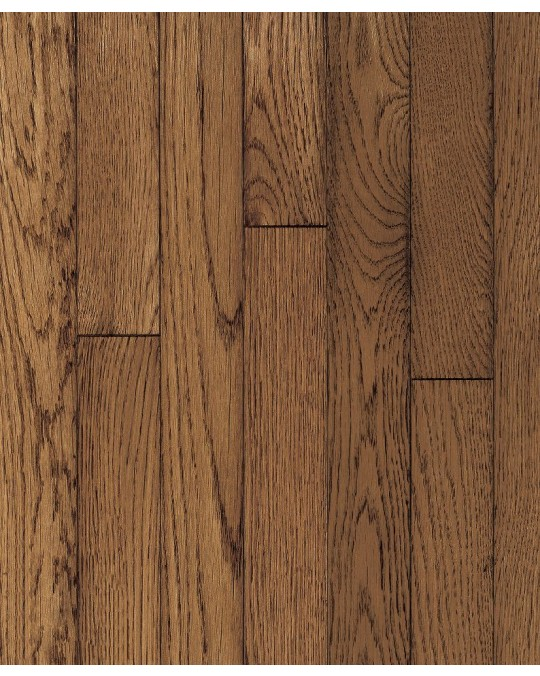 """Armstrong Ascot Strip Oak Sable Solid Traditional Finish 2 1/4"""""""