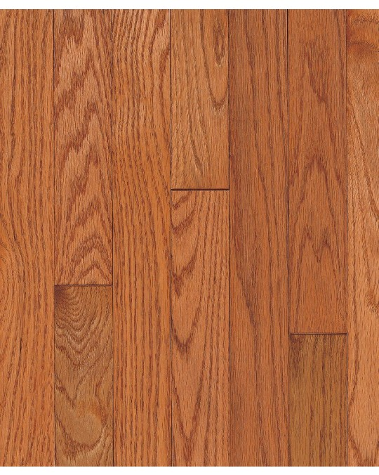"""Armstrong Ascot Plank Oak Topaz Solid Traditional Finish 3 1/4"""""""