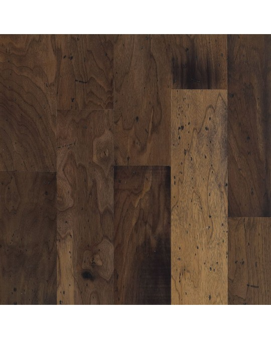 """Armstrong Blackwater Classics Walnut Antique Natural Engineered Distressed 5"""""""