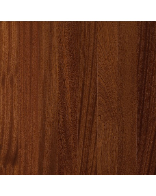 Armstrong Global Exotics African Mahogany  Natural Engineered Traditional Finish 3 1/2""