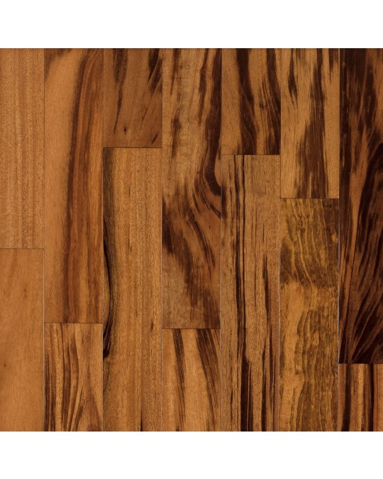 Armstrong Global Exotics Tigerwood  Natural Engineered Traditional Finish 3 1/2""