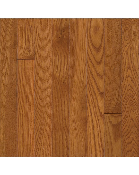 Armstrong Somerse Solid Strip Oak Copper Solid Traditional Finish 2 1/4""