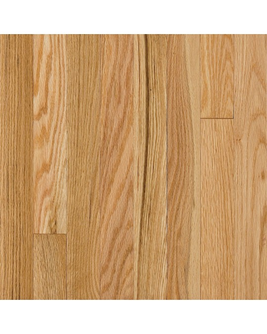 Armstrong Somerse Solid Strip Oak Natural Solid Traditional Finish 2 1/4""
