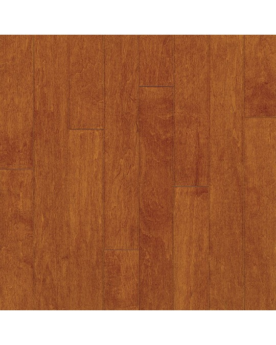 Armstrong Sugar Creek Solid Strip Maple Cinnamon Solid Traditional Finish 3 1/4""