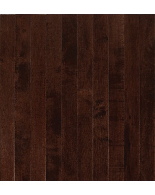 Armstrong Sugar Creek Solid Strip Maple Cocoa Brown Solid Traditional Finish 3 1/4""