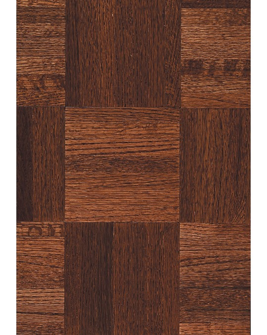 Armstrong Urethane Parquet Oak Cinnabar Solid Traditional Finish 12""