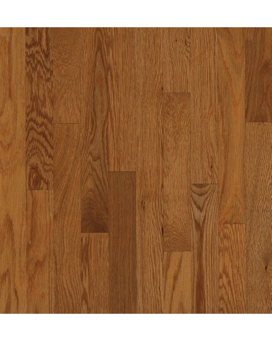 Armstrong Yorkshire Plank Oak Auburn Solid Traditional Finish 2 1/4""