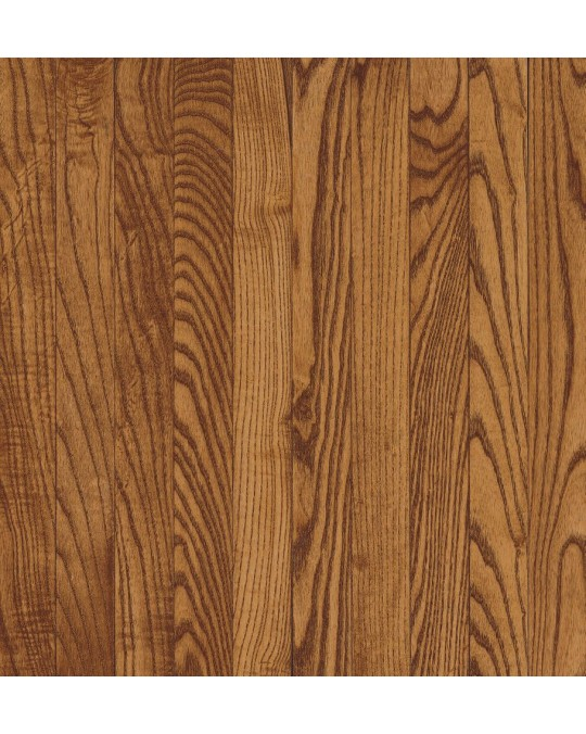 Armstrong Yorkshire Plank Oak Auburn Solid Traditional Finish 3 1/4""