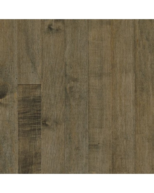 """Bruce Westmoreland Plank Maple Pewter Solid Traditional Finish 3 1/4"""""""