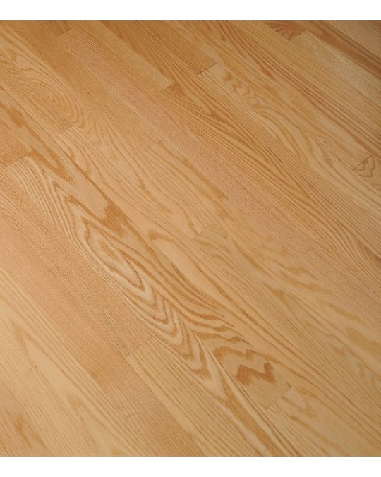 """Bruce Fulton Plank White Oak Natural Solid Traditional Finish 3 1/4"""""""