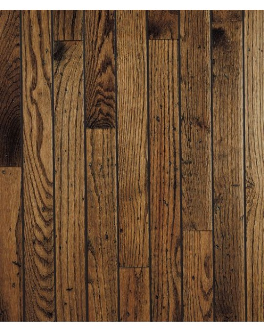 Bruce Trumbull Strip Oak Antique Solid Distressed 2 1/4""