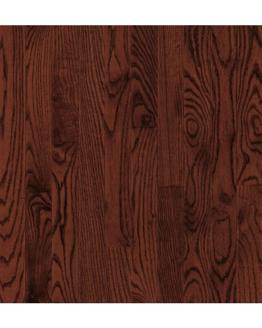 Armstrong Yorkshire Plank Oak Cherry Spice Solid Traditional Finish 2 1/4""