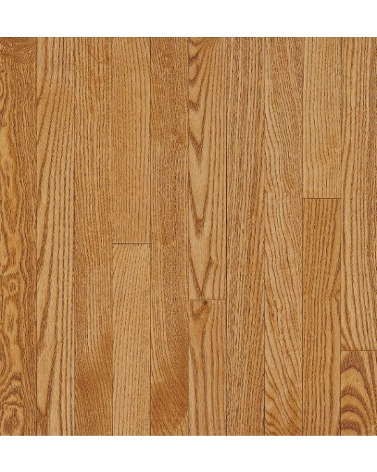 Bruce Dundee Strip White Oak Spice Solid Traditional Finish 3 1/4""