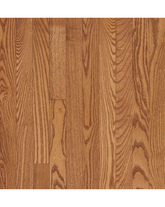 Bruce Dundee Strip White Oak Butterscotch Solid Traditional Finish 3 1/4""