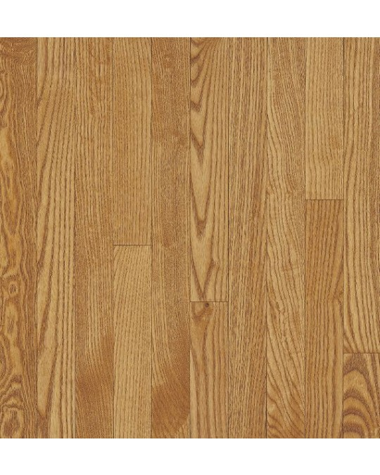 Bruce Dundee Strip White Oak Dune Solid Traditional Finish 3 1/4""