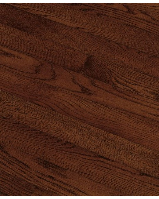 Bruce Fulton Strip White Oak Cherry Solid Traditional Finish 2 1/4""