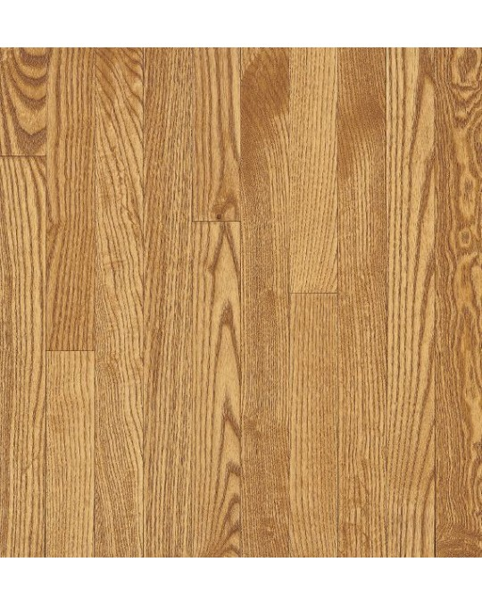 Bruce Dundee Strip White Oak Seashell Solid Traditional Finish 2 1/4""