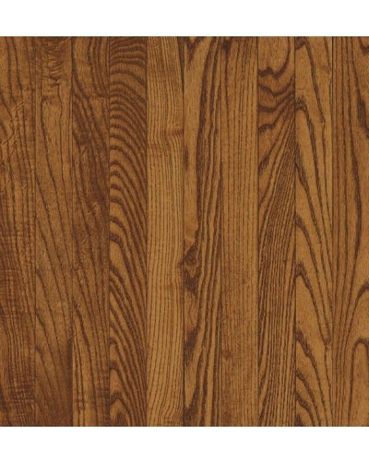 Bruce Dundee Strip White Oak Fawn Solid Traditional Finish 2 1/4""