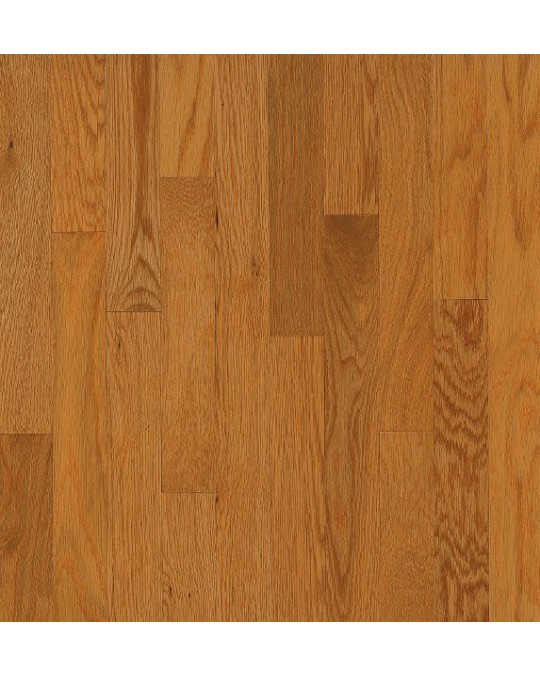 Bruce Dundee Strip White Oak Butter Rum Solid Traditional Finish 2 1/4""