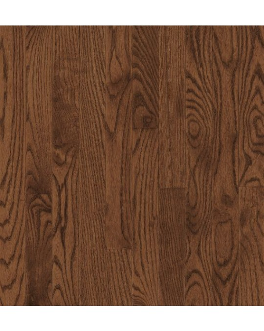 Bruce Bristol Strip Red Oak Saddle Solid Traditional Finish 2 1/4""