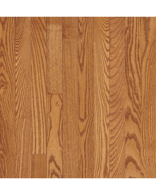 Bruce Dundee Wide Plank Red Oak Butterscotch Solid Traditional Finish 4""