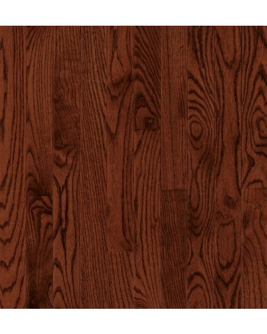 Bruce Dundee Wide Plank Red Oak Cherry Solid Traditional Finish 4""