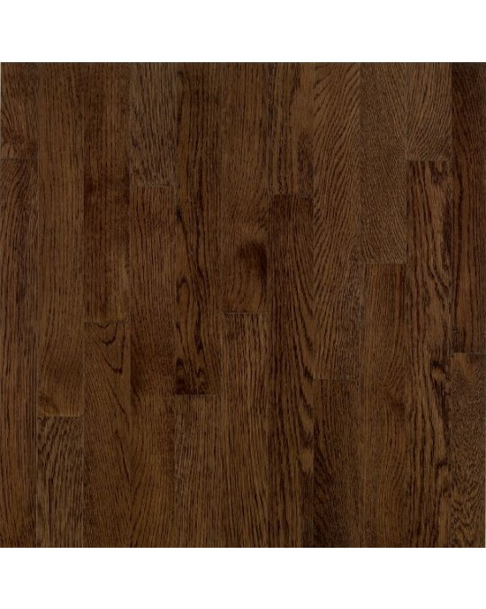 Bruce Dundee Wide Plank Red Oak Mocha Solid Traditional Finish 4""