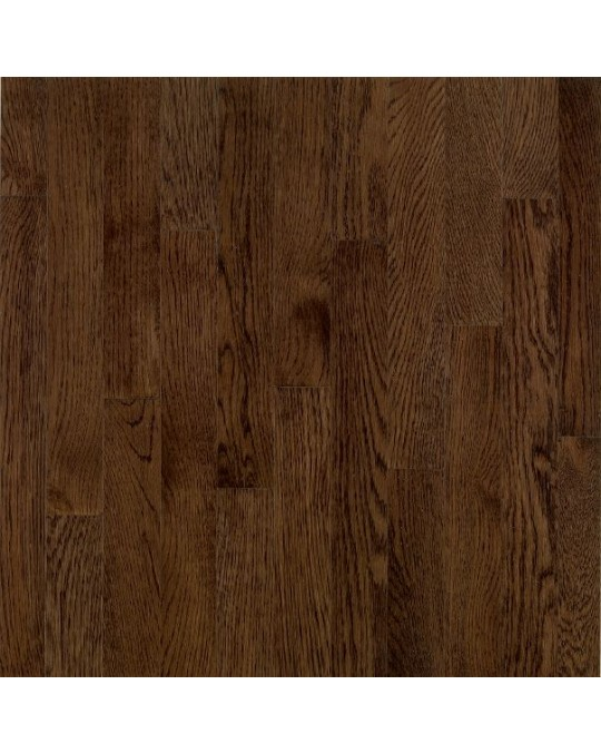 Bruce Dundee Wide Plank Red Oak Mocha Solid Traditional Finish 5""
