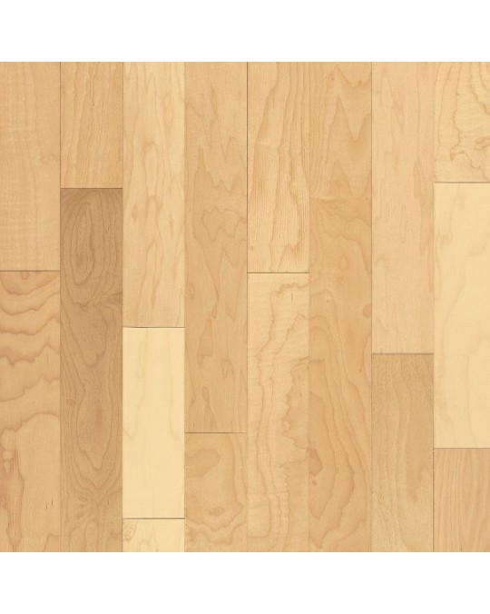 Bruce Kennedale Prestige Plank Maple Natural Solid Traditional Finish 3 1/4""