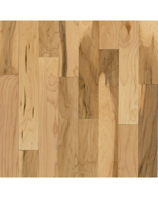 Bruce Kennedale Strip Maple Country Natural Solid Traditional Finish 2 1/4""
