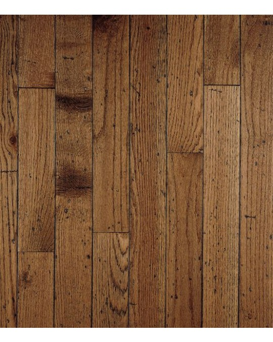 Bruce Ellington Plank Oak Antique Solid Distressed 3 1/4""