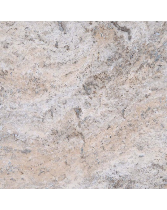 M S International - Natural Stone Travertine Silver Travertine Honed Filled 18 X 18 Travertine
