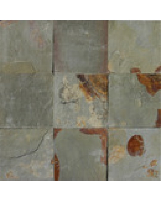 M S International - Natural Stone Slate/Quartize Earth Slate Gauged 24 X 24 Slate/Quartize