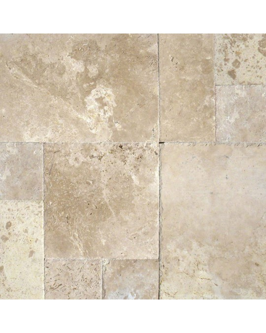 M S International - Natural Stone Travertine Tuscany Storm Versailles Hufc Pattern Travertine
