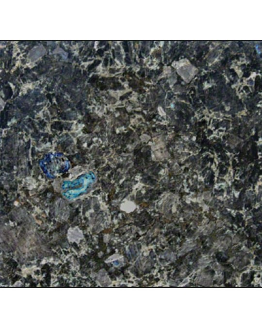 M S International - Natural Stone Granite Volga Blue Polished 12 X 12 Tile