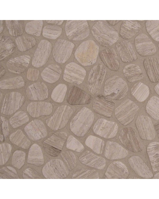 M S International - Natural Stone Pebles White Oak Pebbles Tumbled Tumbled Pattern Pebles